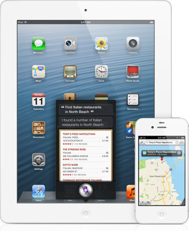 Apple WWDC 2012: Siri and Maps working together.
