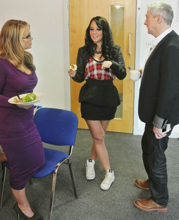 Anastacia, Tulisa Contostavlos and Louis Walsh