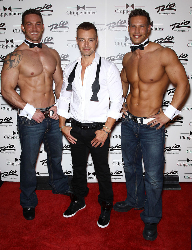 Joey Lawrence The Chippendales welcome new guest star Joey Lawrence at the Rio All-Suite Hotel and Casino Las Vegas