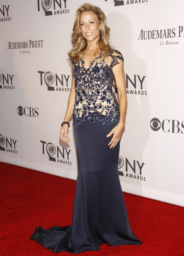 Sheryl Crow arriving at the 66th Annual Tony Awards in New York