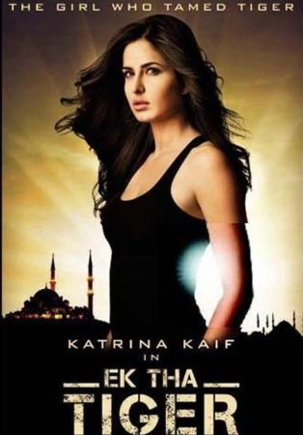 Katrina Kaif in Ek Tha Tiger poster