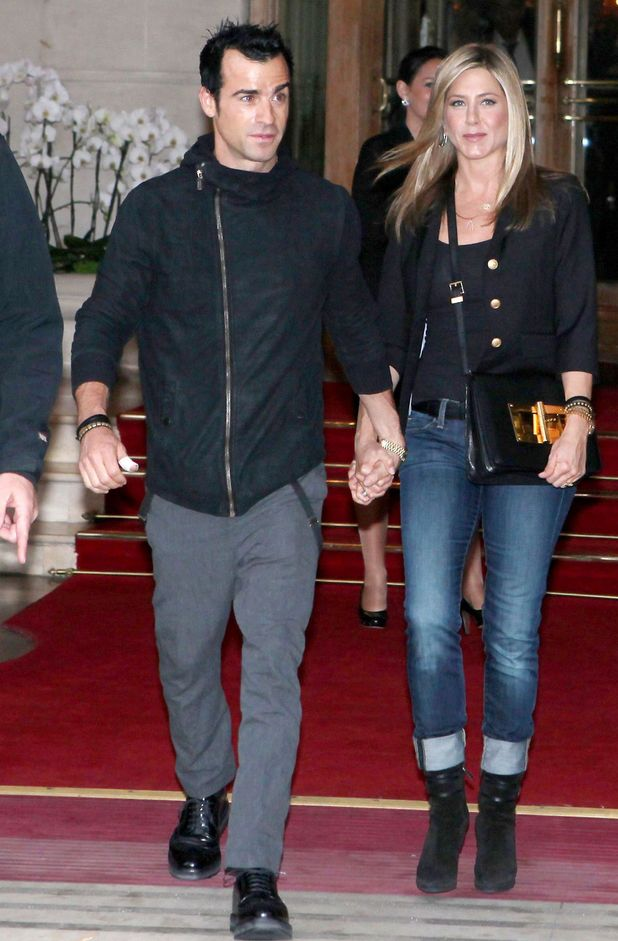 Justin Theroux and Jennifer Aniston
