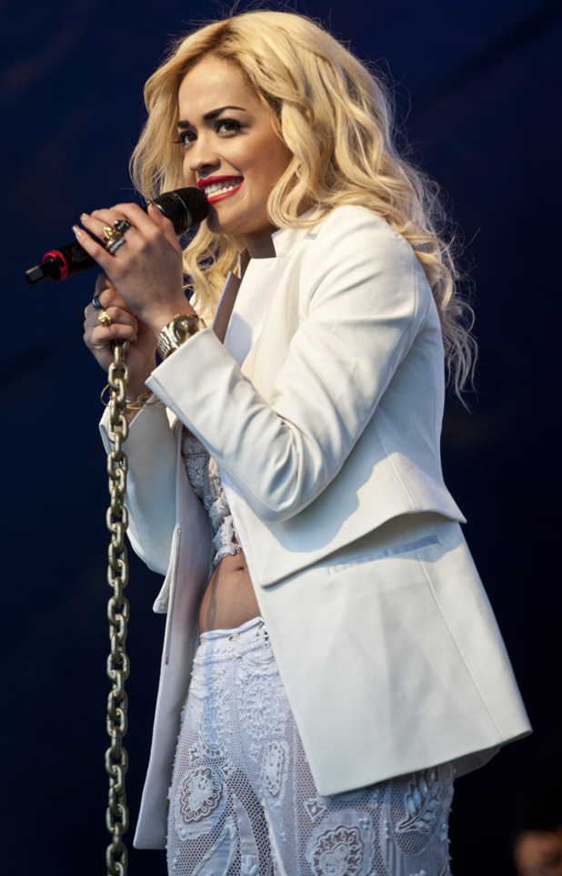 Lovebox festival at Victoria Park - Day 2: Rita Ora