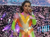 Cheryl Cole, Captial Summertime Ball, Pam Hogg catsuit