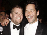 James Corden and Paul Rudd The Official Tony Award After Party held at the Plaza Hotel New York City