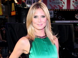 Heidi Klum at the Project Runway 10th Anniversary Runway Event, Times Square, New York.