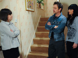 Gennie tells Chas and Cameron their secret is still safe, but she will tell Debbie unless they end their affair