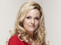 Max's Manchester secret remains a mystery to Tanya actress Jo Joyner.