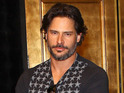 Joe Manganiello sports a fake beer belly in the clip from The Soup.