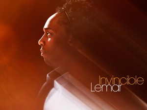 Lemar 'Invincible' single artwork.