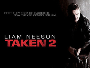 Liam Neeson in first 'Taken 2' poster