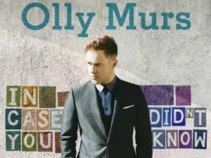 Olly Murs 'In Case You Didn't Know' US artwork.