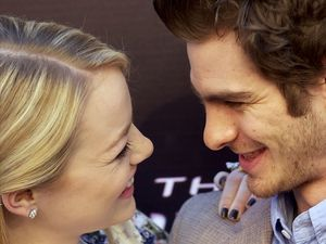 Emma Stone, Andrew Garfield, The Amazing Spider-Man