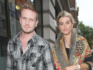 Matthew Wolfenden and Charley Webb out and about in Mayfair