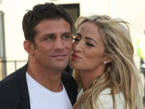 Alex Reid and Chantelle Houghton at the ITV studios London