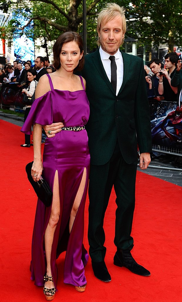 The Amazing Spider-Man Premiere: Rhys Ifans and Anna Friel