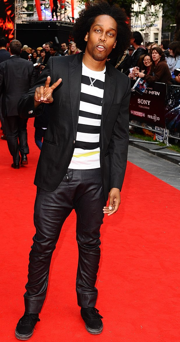 The Amazing Spider-Man Premiere: Lemar