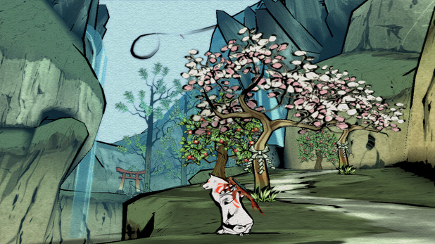 'Okami HD' announcement screenshot