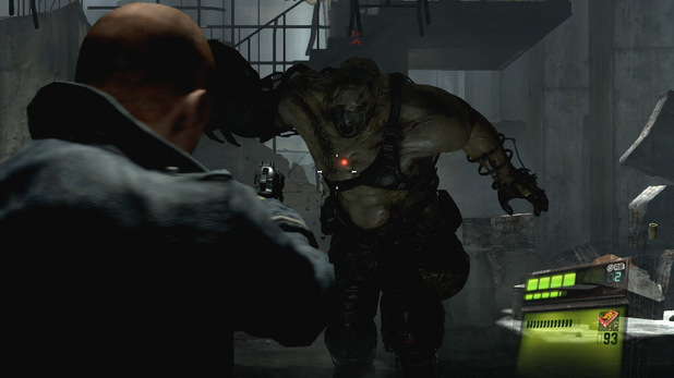 Jake in action in Resident Evil 6