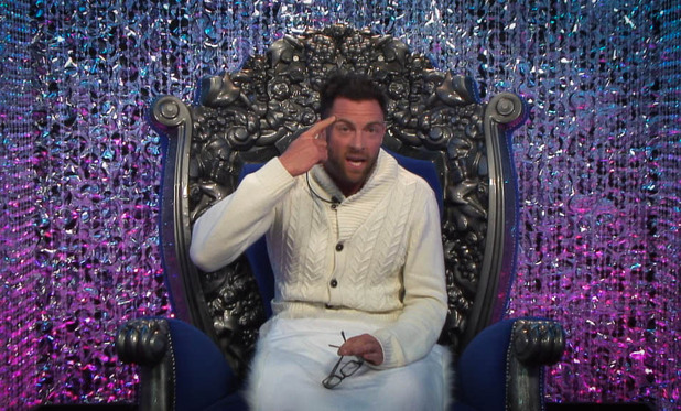 Big Brother 2012 Day 14: Benedict in the Diary Room