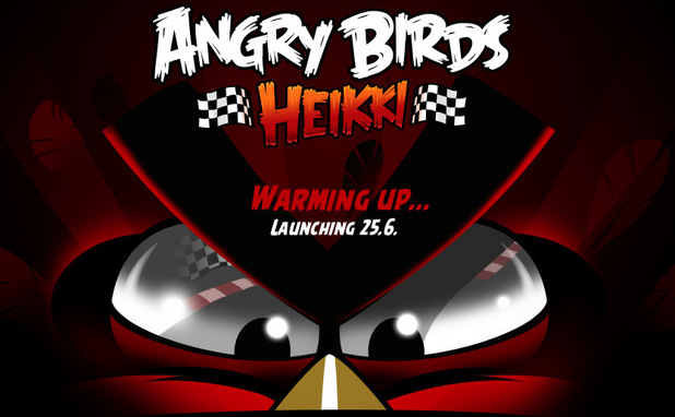'Angry Birds Heikki' website teaser image