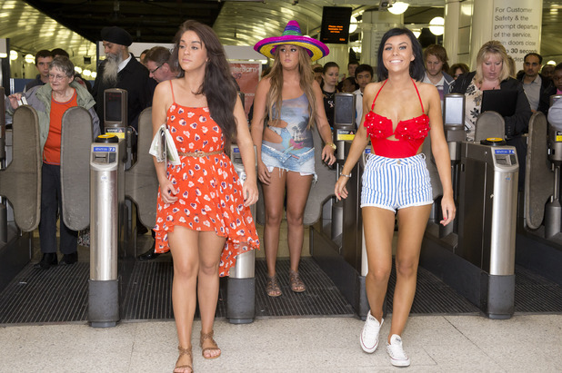 Geordie Shore bring Cancun to London