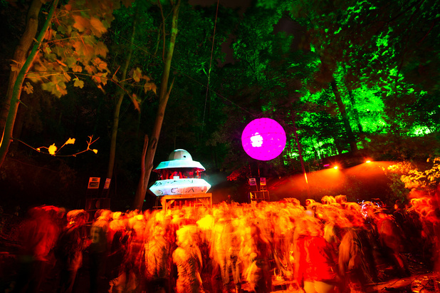 Glade festival Meteor stage