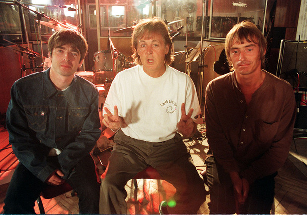 McCartney, Weller, Gallagher
