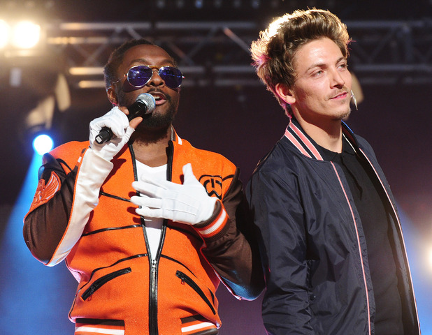 BBC Radio 1's Hackney Weekend: will.i.am and Tyler James