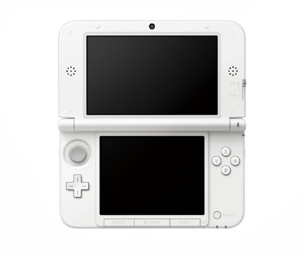 Nintendo 3DS XL in white