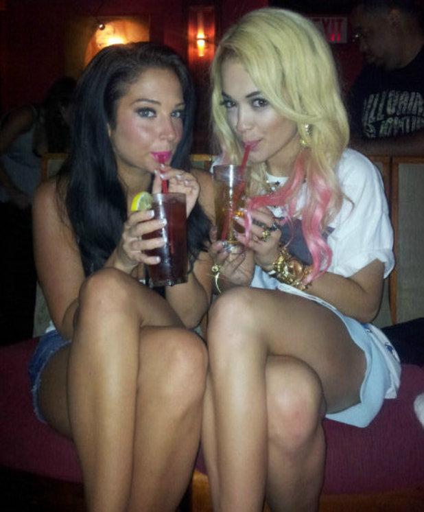 Tulisa and Rita Ora