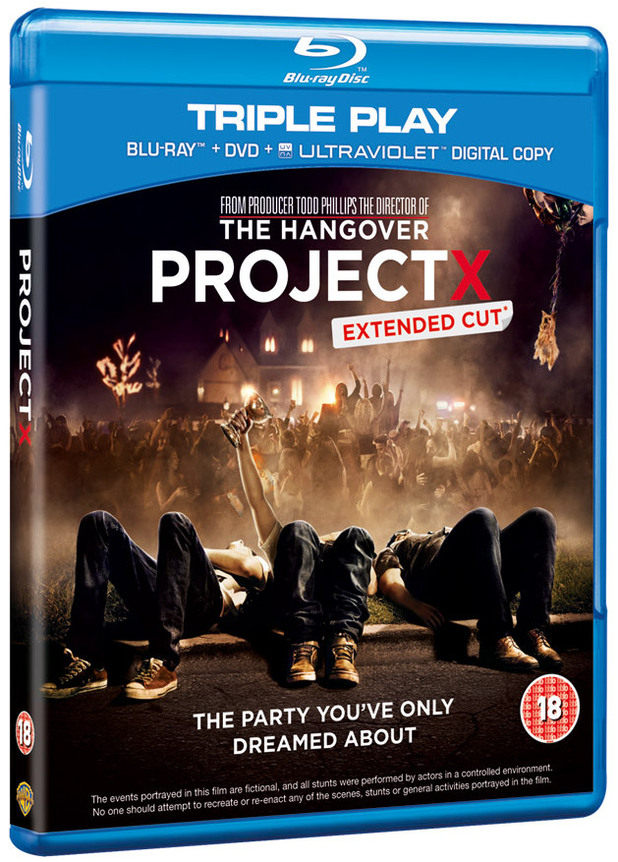 'Project X' blu-ray cover