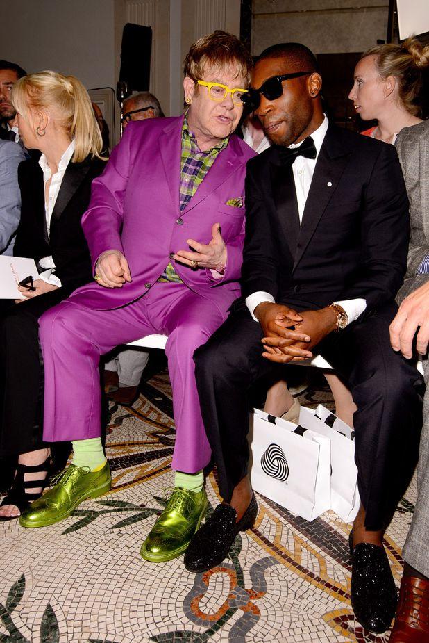 Elton John, and Tinie Tempah