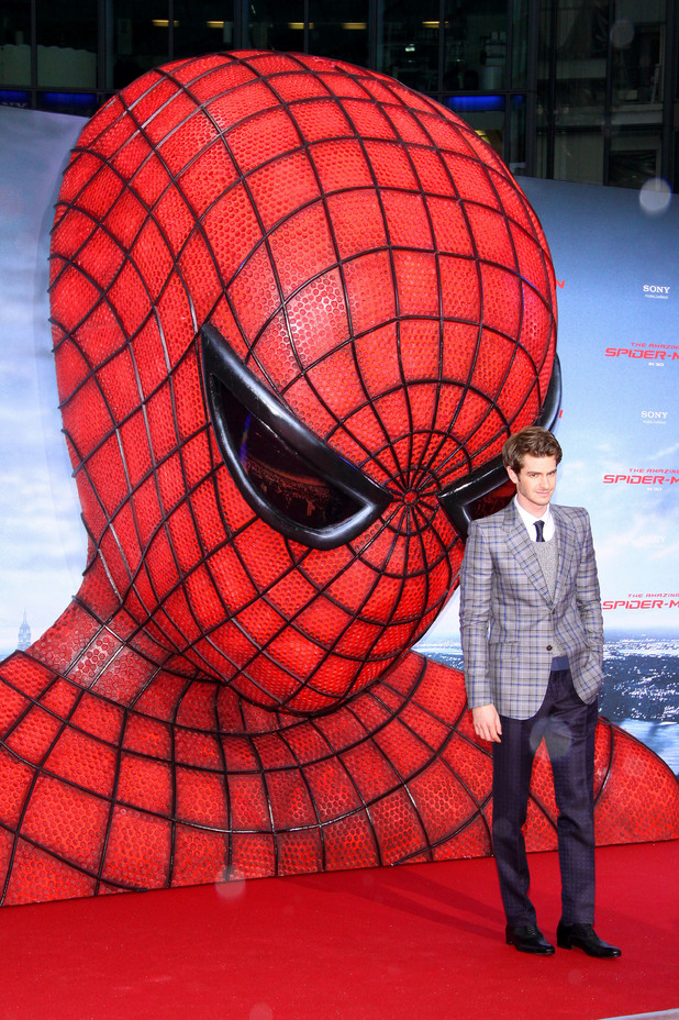 Andrew Garfield, The Amazing Spider-Man, Berlin