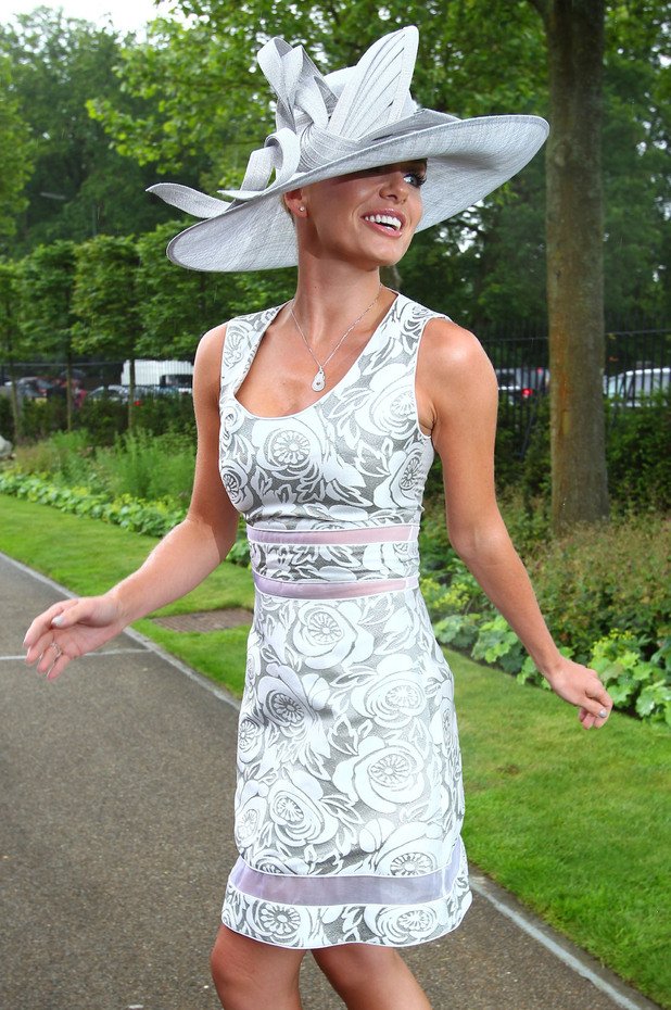Celebrities at Royal Ascot 2012 Day 3 