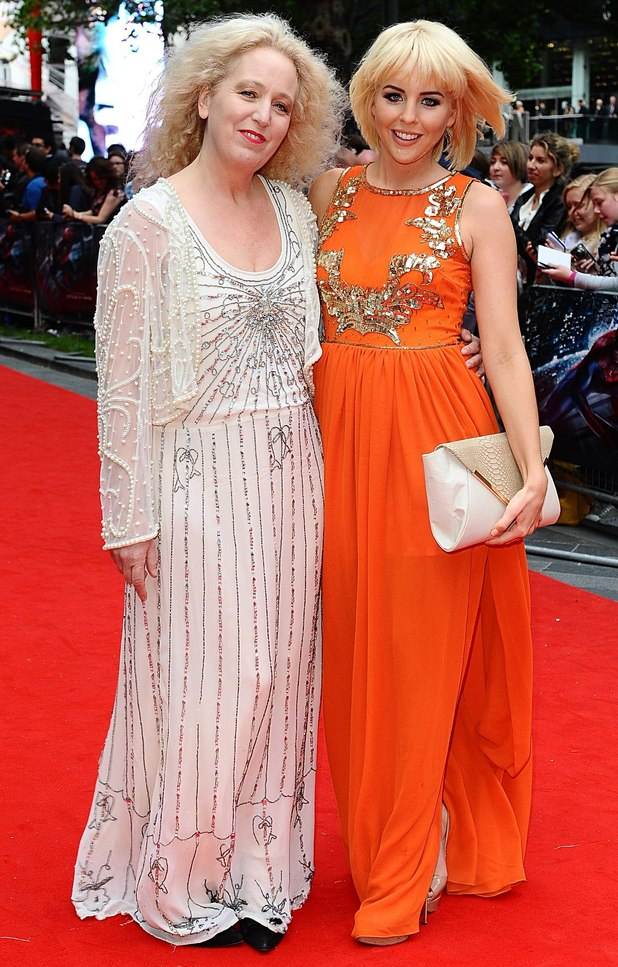 The Amazing Spider-Man Premiere: Debbie and Lydia Bright