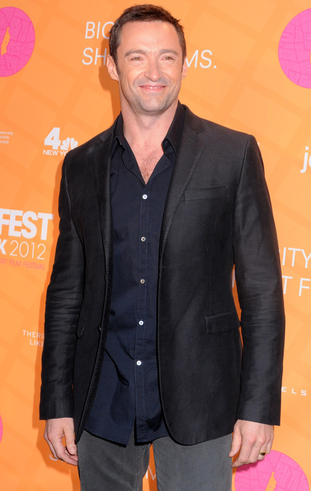 Hugh Jackman attends Tropfest 2012.