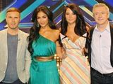 The X Factor 2012 Judges: Gary Barlow, Nicole Scherzinger, Tulisa and Louis Walsh