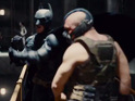 The new advert shows Tom Hardy's Bane going up against Batman.