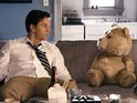 Character in hit comedy is alleged to be a copy of online 'Charlie' teddy bear series.