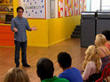 "Cory Monteith visits the Glee Project contestants to help with ""vulnerability""."