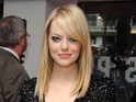 Emma Stone remains friends with her Crazy, Stupid, Love co-star Ryan Gosling.