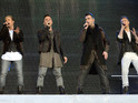 Westlife play their final farewell concert in front of 80,000 Irish fans.