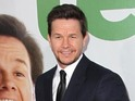 Mark Wahlberg says he didn't have any trouble acting with his inanimate co-star.