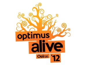 Optimus Alive white logo