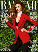 Miranda Kerr fronts Harper&#39;s Bazaar