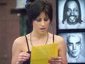 Big Brother 2012 - Day 22: Lydia reads out the day 22 task