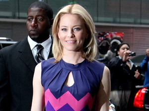 Elizabeth Banks outside ABC studios for 'Good Morning America' New York City, USA