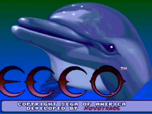&#39;Ecco The Dolphin&#39; screenshot