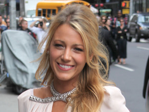 Blake Lively 'The Late Show with David Letterman' at the Ed Sullivan Theater - Arrivals New York City, USA
